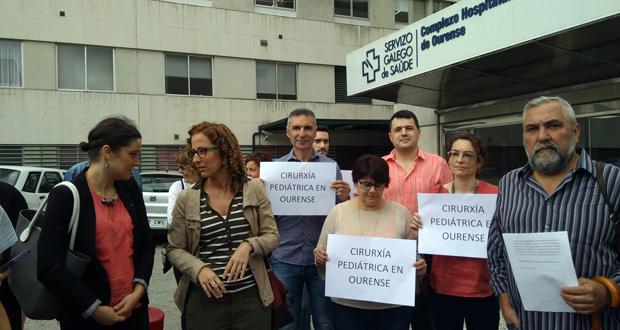 """Photo of SOS Sanidade Pública denunciará ante a Fiscalía o """"desmantelamento"""" da Cirurxía Pediátrica no CHUO"""