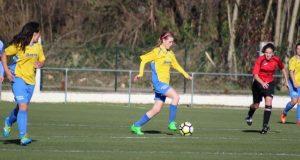 Candela Novo, do Rúa Valdeorras CF, xogará no I partido Galicia Norte-Galicia Sur