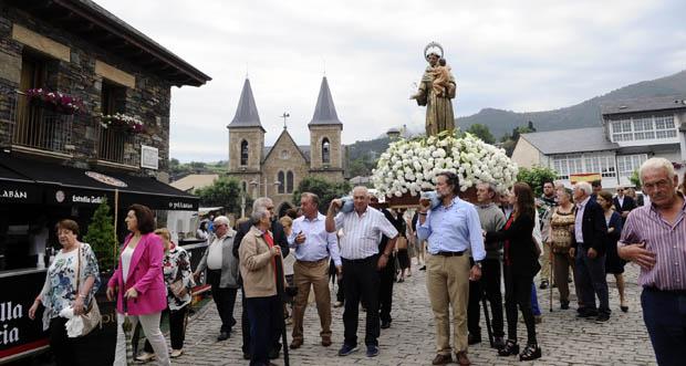 Photo of Fontei pecha as festas na honra a San Antón
