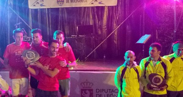 Photo of O equipo masculino do Adas, subcampión de España en carreiras de montaña
