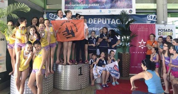 Photo of O Sincro Ourense triunfa na Copa Deputación de natación sincronizada