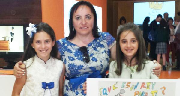 """Photo of Dúas alumnas vianesas, finalistas autonómicas do certame """"¿Qué es un Rey para ti?"""""""