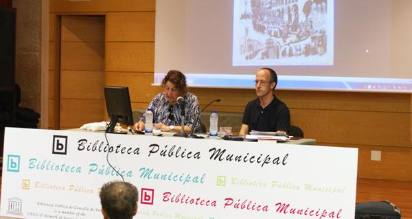 """Photo of """"O outro Camiño de Santiago"""", na Biblioteca de Verín"""