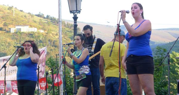 Photo of The Marveltons poñen fin á Festa do Casco Vello do Barco