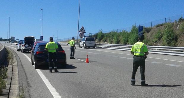 Photo of Un control de Tráfico detectou un condutor que circulaba a 225 km/hora pola estrada Ourense-Santiago