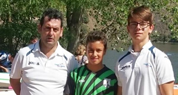 Photo of O Fluvial Barco e o Allariz na Copa España infantil en Villalpando