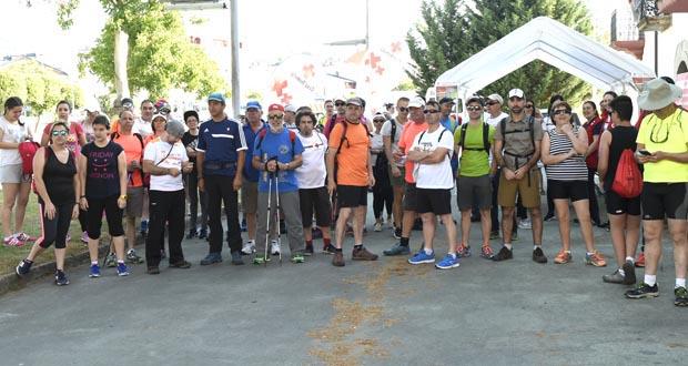 Photo of Uns 80 inscritos na IV Andaina Solidaria da Cruz Vermella en Valdeorras