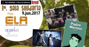 Gala solidaria pola ELA, este venres no Barco de Valdeorras