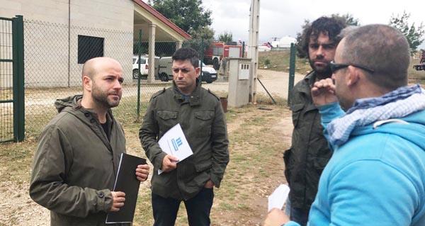 Photo of Os deputados Davide Rodríguez e Luís Villares presentan o decálogo de En Marea para loitar contra os lumes forestais