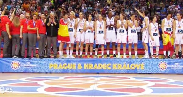 Photo of A selección do valdeorrés Lucas Mondelo logra o terceiro ouro de España nun Eurobásket feminino
