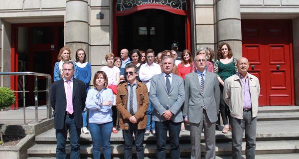 Photo of Minuto de silencio na Subdelegación do Goberno en Ourense polo atentado de Londres