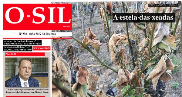 Photo of A edición de xuño de O SIL afonda nas consecuencias das xeadas no rural galego