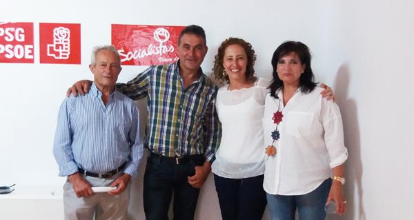 Photo of A deputada autonómica Noela Blanco reúnese cos socialistas vianeses