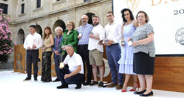 Photo of Ramón do  Casar treixadura, Pazo Tizón e Elisa Collarte, mellores viños na cata oficial do Ribeiro