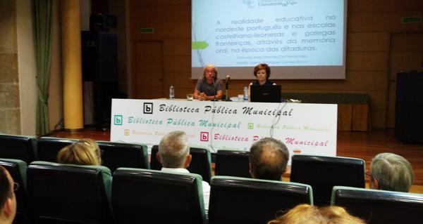 Photo of Preséntase unha tese sobre a realidade das escolas fronteirizas na época das ditaduras na Biblioteca de Verín