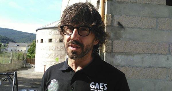 Photo of O actor Santi Millán, en Vilamartín