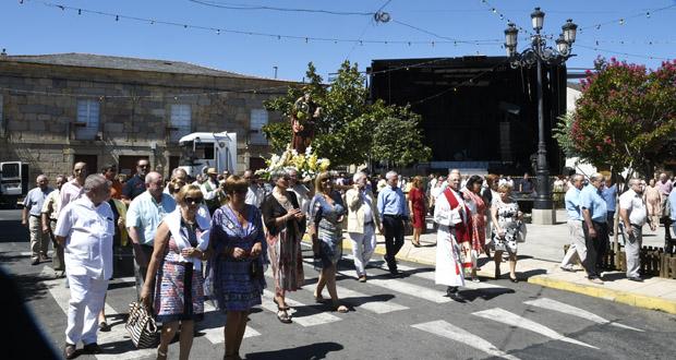 Photo of Petín rende culto ao Apóstolo