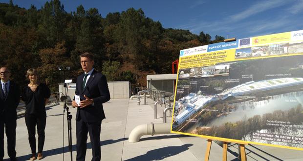 Photo of A nova depuradora de Ourense estará funcionando un ano en proba