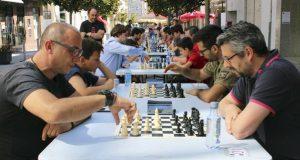 Uns 40 xogadores, no I Aberto Internacional de Xadrez celebrado na Rúa