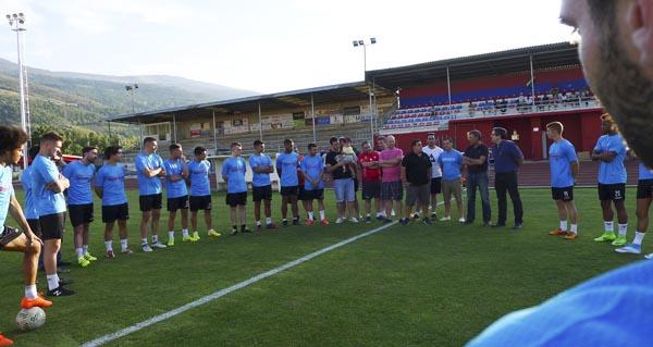 Photo of O CD Barco presenta un renovado plantel para afrontar unha nova tempada en terceira división