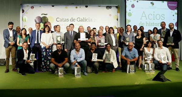 Photo of D'Berna e Godeval, premiados na Cata dos Viños de Galicia