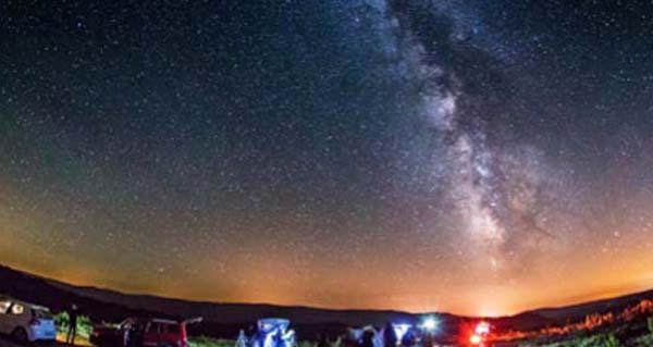 """Photo of """"Os ceos de Trevinca"""", gozando da noite no teito de Galicia"""