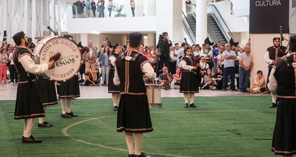 Photo of A Banda de Gaitas de Esgos, na final da XXVI Liga de Gaitas