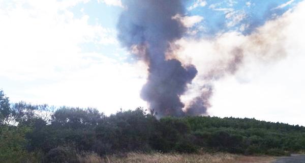 Photo of Dous incendios no municipio de Monterrei