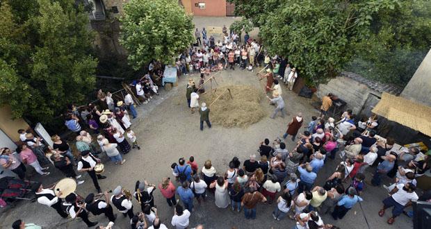 Photo of Ao ritmo dos mallos, no XIV Mercado Medieval de Tremiñá