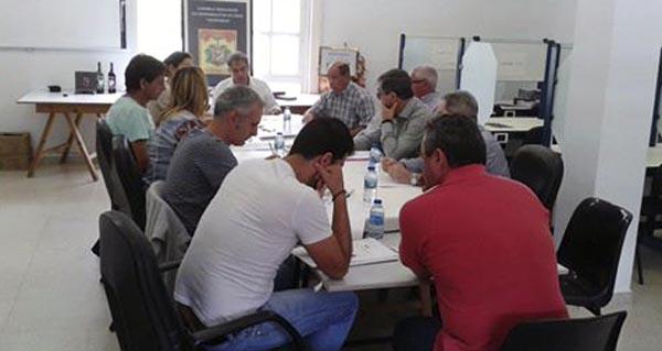 Photo of Primeira xuntanza do Pleno do C.R.D.O. Valdeorras tralo nomeamento do novo presidente