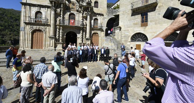 Photo of Visita institucional ao Santuario da Nosa Señora das Ermitas (O Bolo)