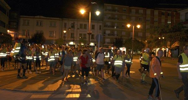 Photo of Uns 130 participantes na X edición da andaina nocturna Os Mouchos
