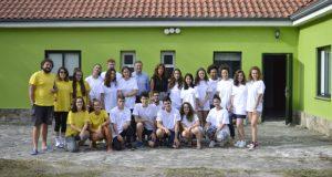 Os campos de traballo de Ourense e Esgos traballan na limpeza de terreos
