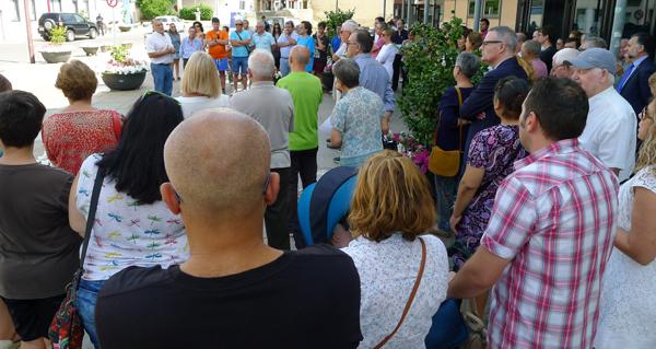 Photo of Minutos de silencio ao longo da provincia para rexeitar os atentados en Cataluña