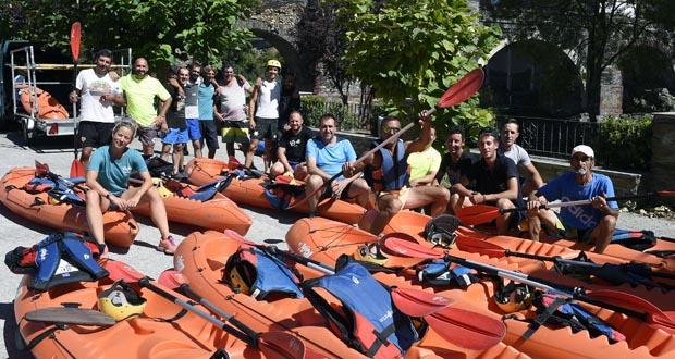 Photo of CUFA celebra o verán baixando o río Sil