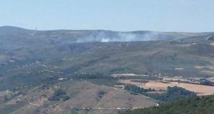 Incendio forestal en Castiñeira (Vilariño de Conso)