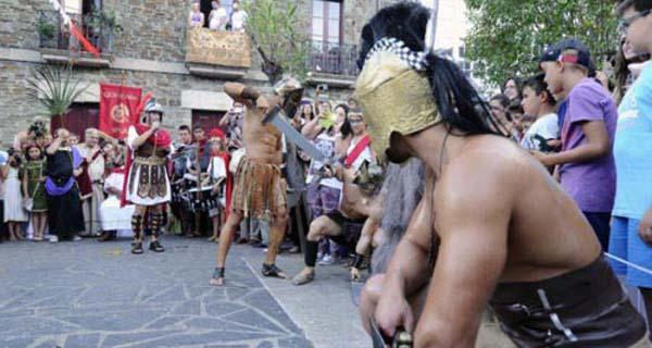 Photo of Quiroga revive o seu pasado romano