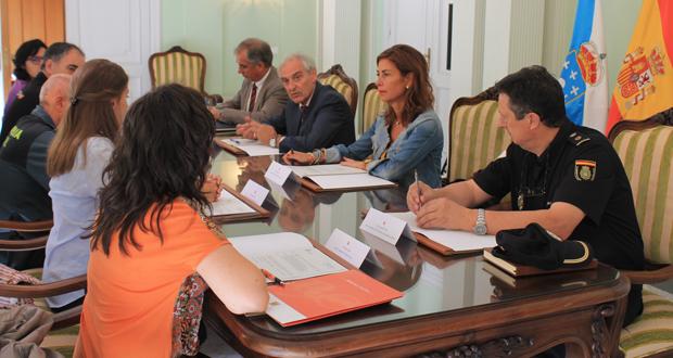 Photo of Reunión para coordinar o control do transporte de uva na provincia