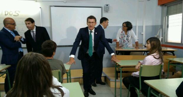 """Photo of Feijóo: """"O abandono escolar en Galicia descendeu até o 15% no 2017"""""""