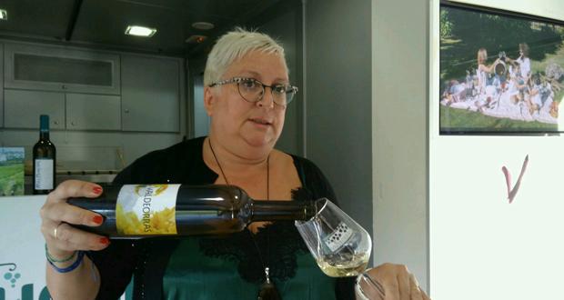 """Photo of Mercedes González: """"Hai momentos para viños e viños para momentos"""""""
