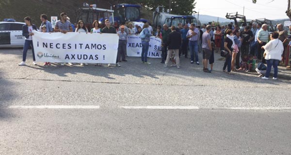 Photo of Nova mobilización do rural do oriente ourensán para reclamar axudas pola xeada e a seca
