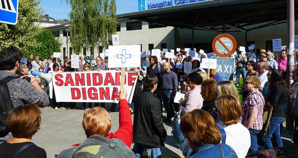 Photo of Valdeorras continúa mobilizándose en defensa da súa área sanitaria