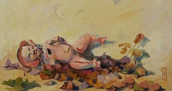 Photo of A obra do pintor barquense Jesús Díaz exponse na galería Soho de Vigo