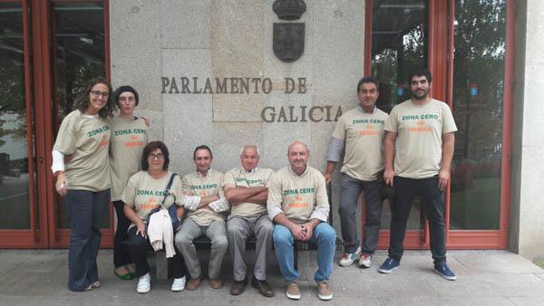 Photo of Noela Blanco plantéxalle á conselleira do Medio Rural a grave problemática da seca na montaña ourensá