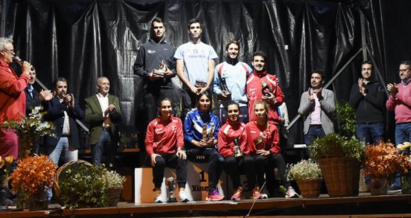 Photo of Solange Pereira e Jesús Gómez vencedores da 31ª Milla do Barco