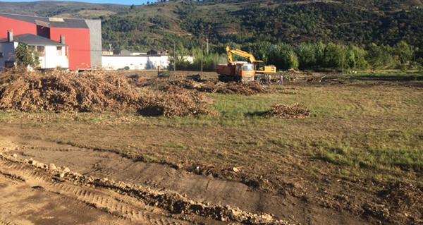 Photo of Comezan as obras para a instalación do Mercadona no Barco