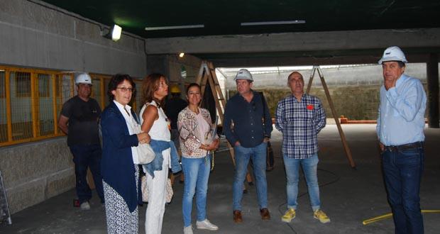Photo of O CEIP Emilia Pardo Bazán de Leiro abre o curso cun novo espazo para un ximnasio