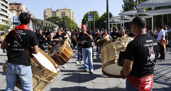 Photo of O Entroido ourensán, no IX Festival da Máscara en Zamora