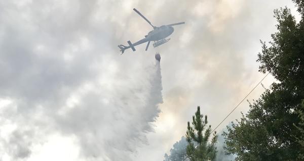 Photo of Imaxes da extinción do incendio en Valdegodos