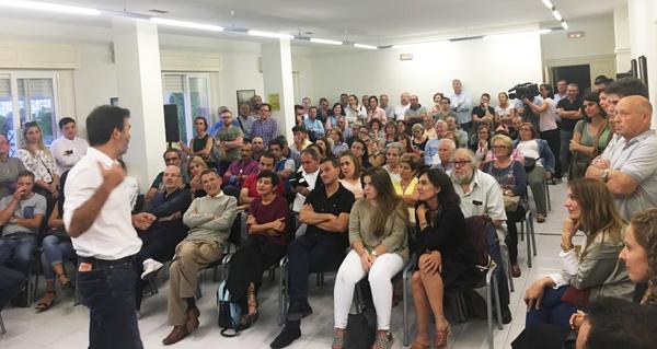 Photo of Encontro de Villoslada cos militantes socialistas na cidade de Ourense